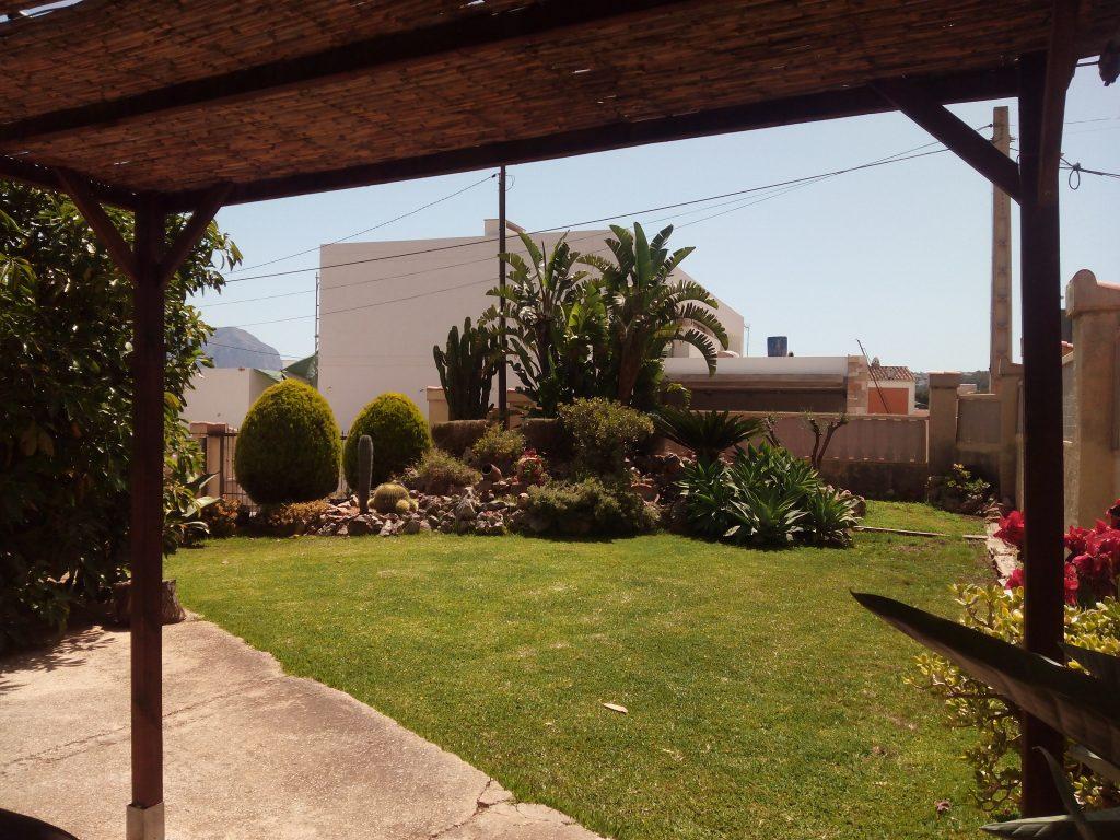 Jardín barbacoa